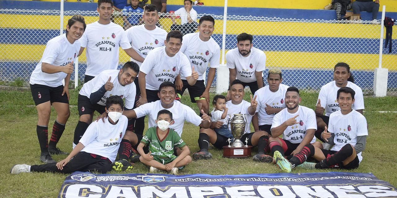 Milán sigue siendo el rey en la Liga Carrasquedo   El Imparcial de Oaxaca