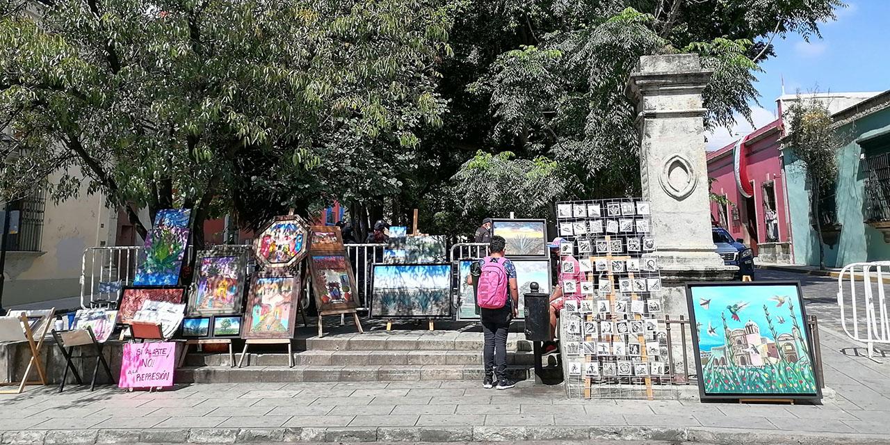 Artistas oaxaqueños siguen sin recuperar el Jardín del Arte a pesar de solicitudes   El Imparcial de Oaxaca