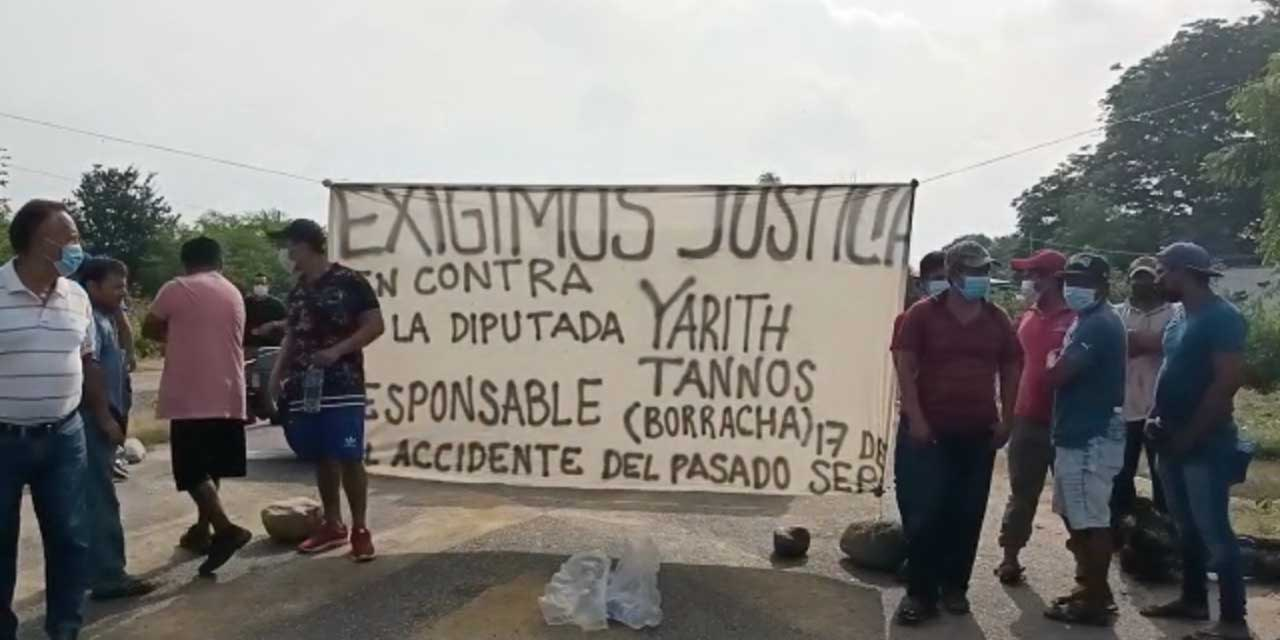 Yarith Tannos incumple con víctimas de accidente   El Imparcial de Oaxaca