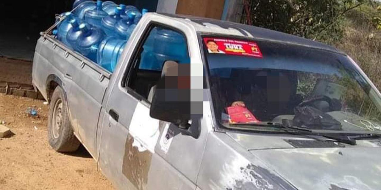 Roban camioneta con garrafones de agua en Xoxocotlán | El Imparcial de Oaxaca