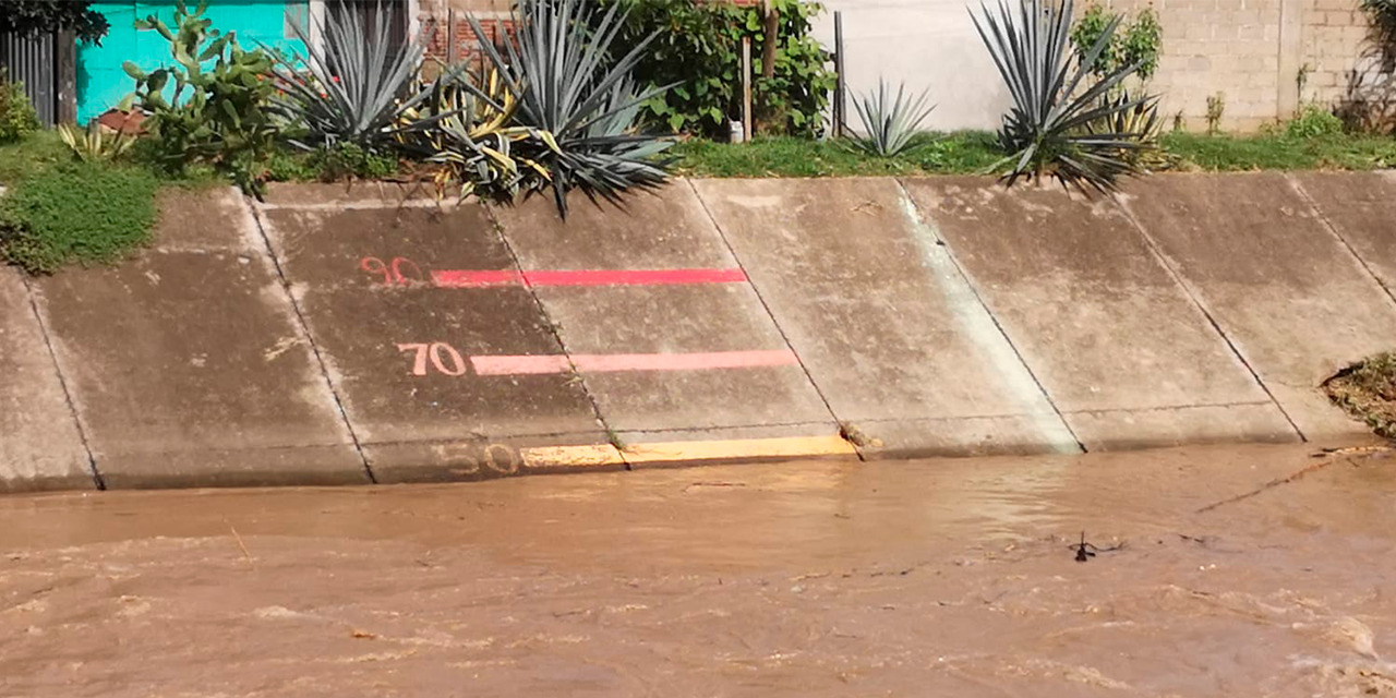 Baja al 50% de capacidad el Río Salado | El Imparcial de Oaxaca