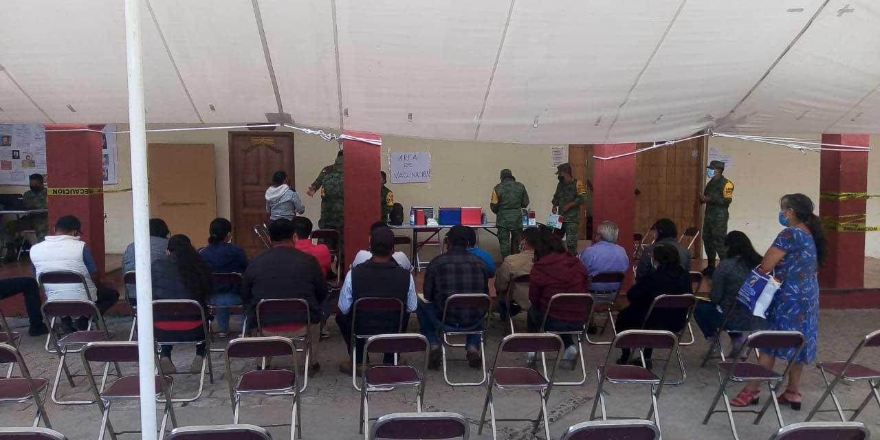 Aplican más de mil vacunas anti Covid-19 en Santiago Huajolotitlán | El Imparcial de Oaxaca