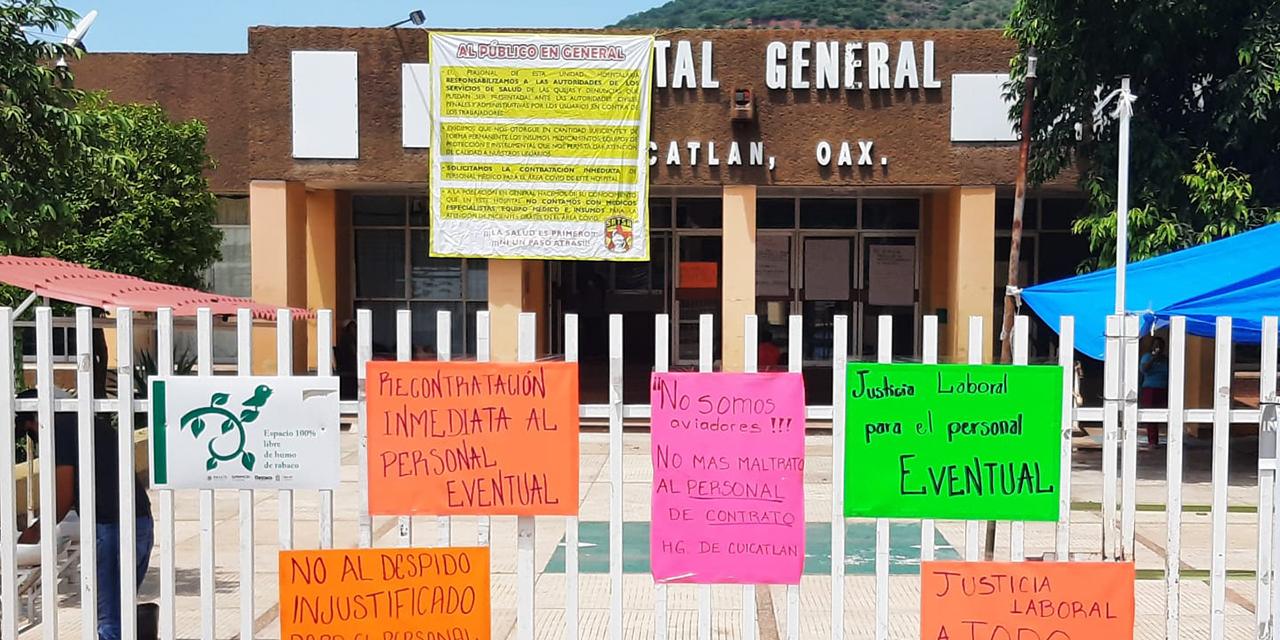 Ciudadanía, la más afectada ante despido de personal de salud en Cuicatlán   El Imparcial de Oaxaca