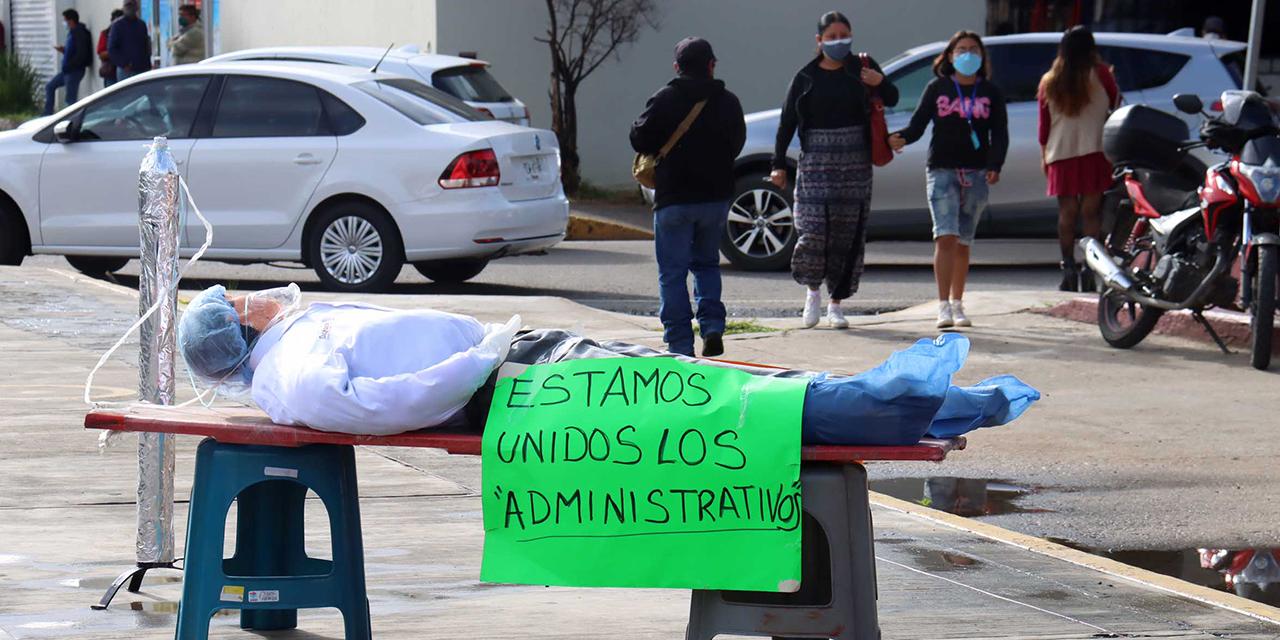 Insiste SITyPS en contrato de eventuales | El Imparcial de Oaxaca