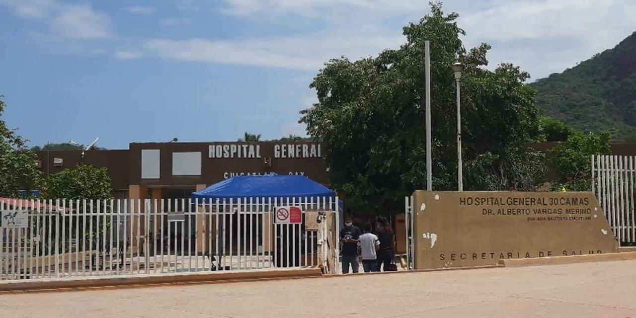 Juan Carlos Cerón M. deja la dirección del hospital de Cuicatlán   El Imparcial de Oaxaca
