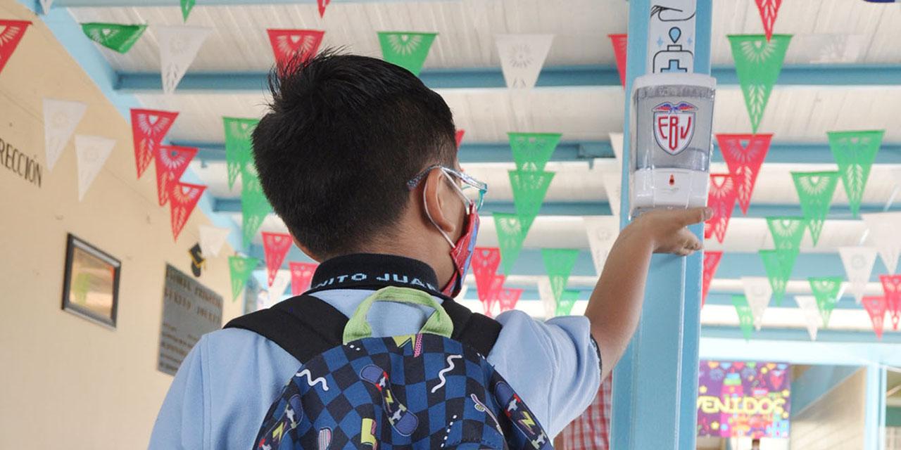 Funcionan protocolos en los primeros días del regreso a clases   El Imparcial de Oaxaca