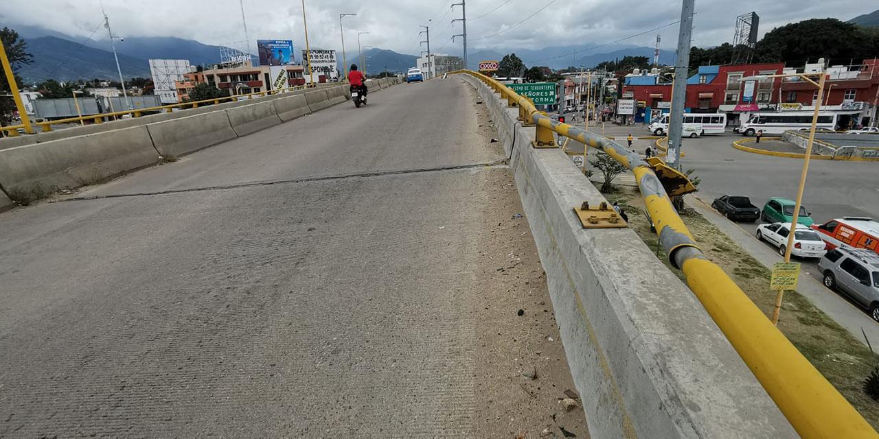 Sinfra minimiza daños en el puente de 5 Señores | El Imparcial de Oaxaca