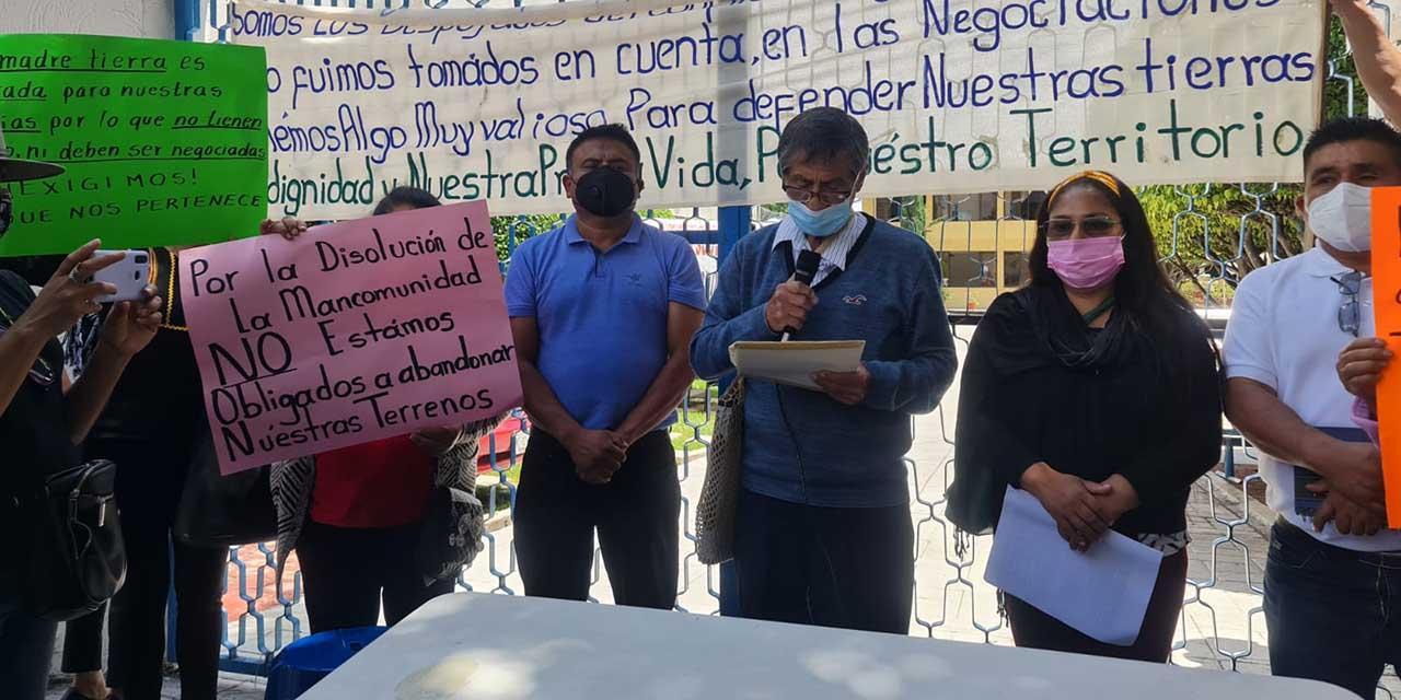 Se cae el acuerdo entre Ayutla y Tamazulápam   El Imparcial de Oaxaca