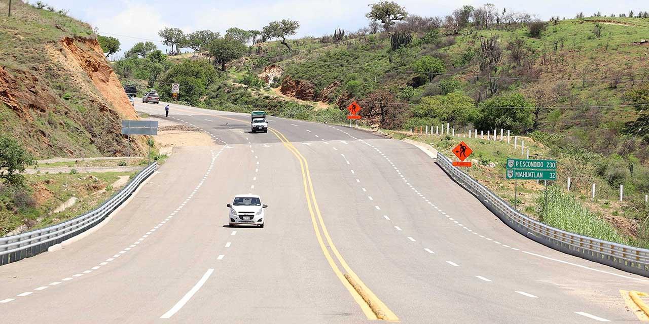Autopista a la Costa lleva  70% de avance, dice Segego   El Imparcial de Oaxaca