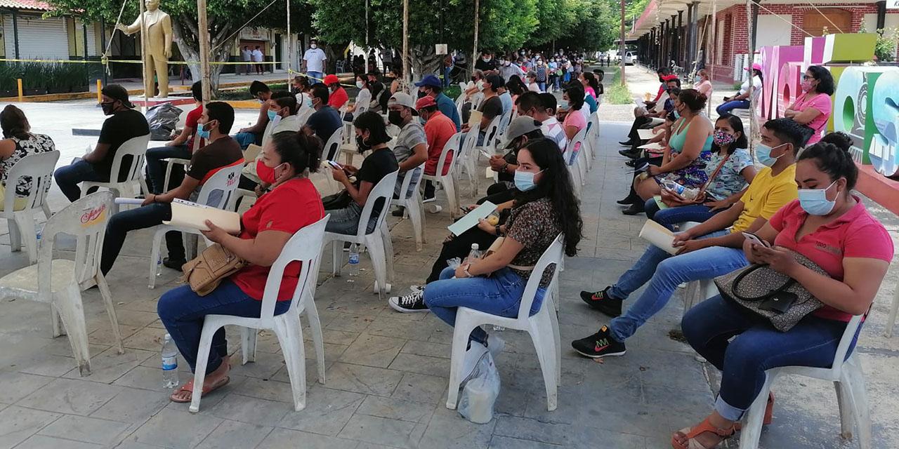 Aplican vacuna CanSino en Matías   El Imparcial de Oaxaca