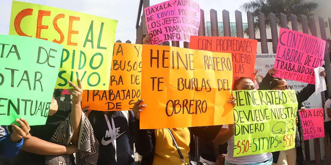 Sin renovación 2,200 eventuales en los SSO   El Imparcial de Oaxaca