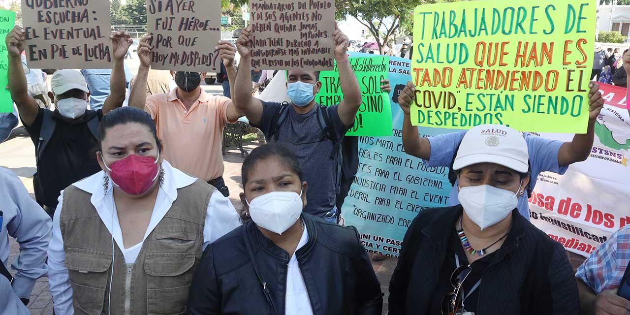 Trabajadores de SSO mantienen rally de movilizaciones | El Imparcial de Oaxaca