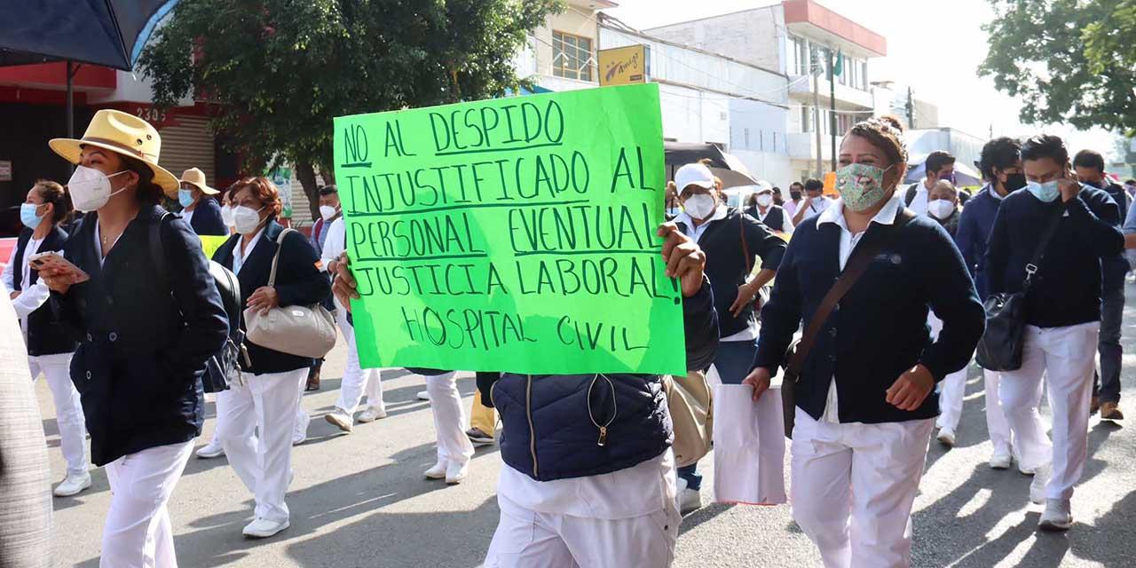 Rescatarían al 70% del personal cesado en SSO | El Imparcial de Oaxaca