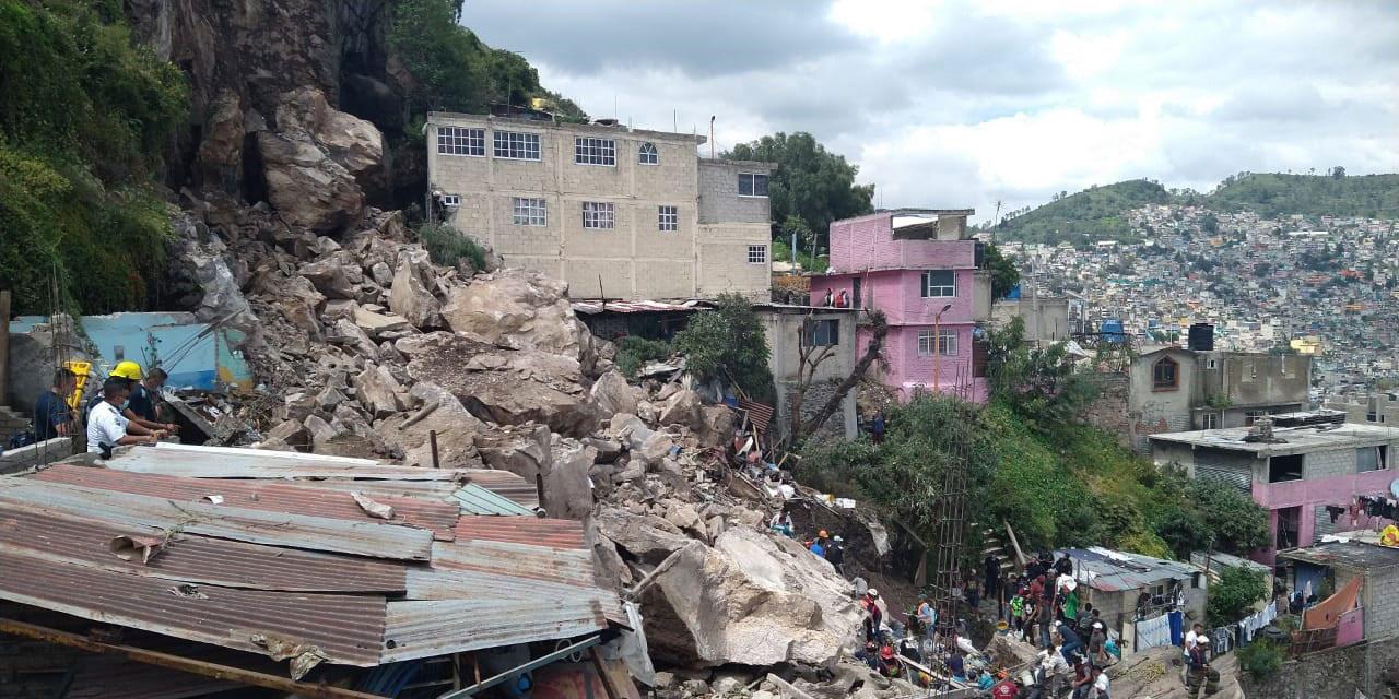 Reportan personas desaparecidas tras derrumbe del Cerro del Chiquihuite | El Imparcial de Oaxaca