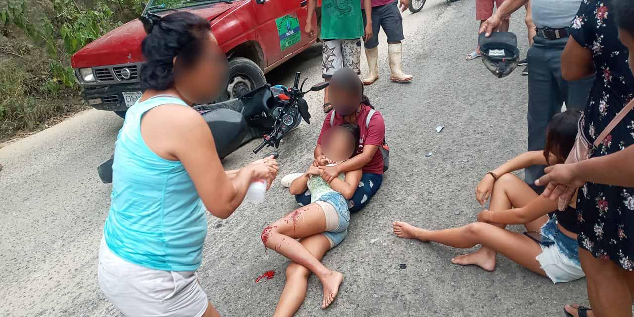 Aparatoso choque en Puerto Ángel deja dos víctimas   El Imparcial de Oaxaca