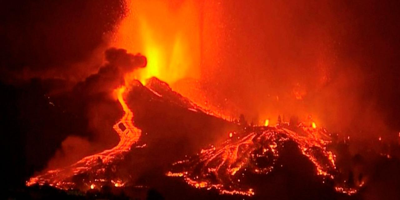 La erupción del volcán en La Palma de España, obliga a una evacuación masiva | El Imparcial de Oaxaca