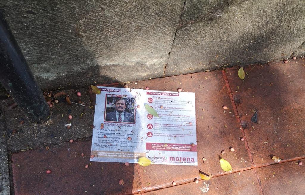 """Inundan de """"basura electoral"""" las calles de Oaxaca de Juárez   El Imparcial de Oaxaca"""