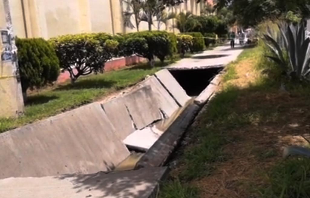 Vecinos piden la rehabilitación del Andador del Sol en el fraccionamiento la Noria | El Imparcial de Oaxaca