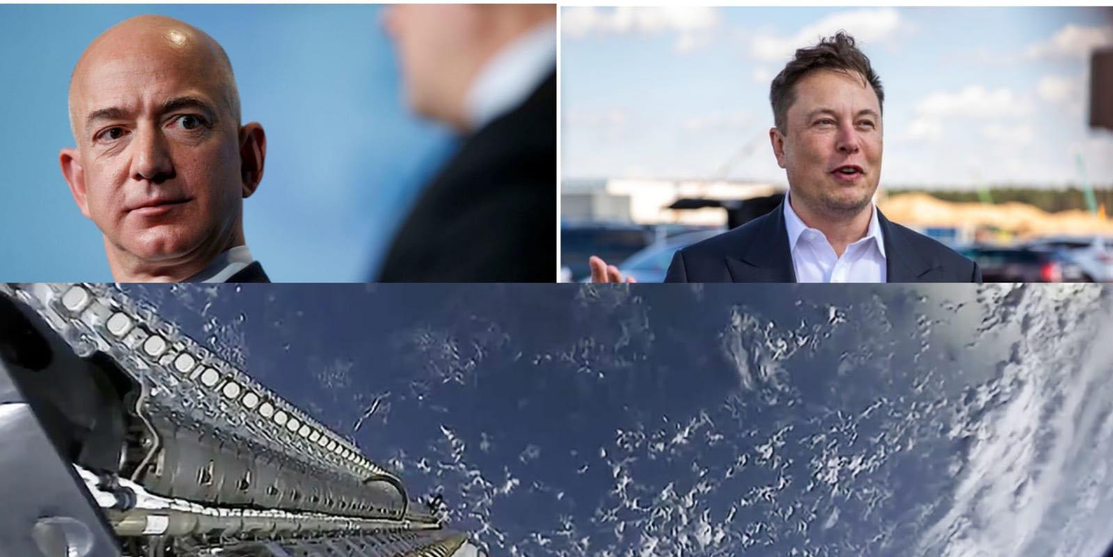 SpaceX acusa a Amazon de competencia desleal al obstruir los satélites de Starlink | El Imparcial de Oaxaca