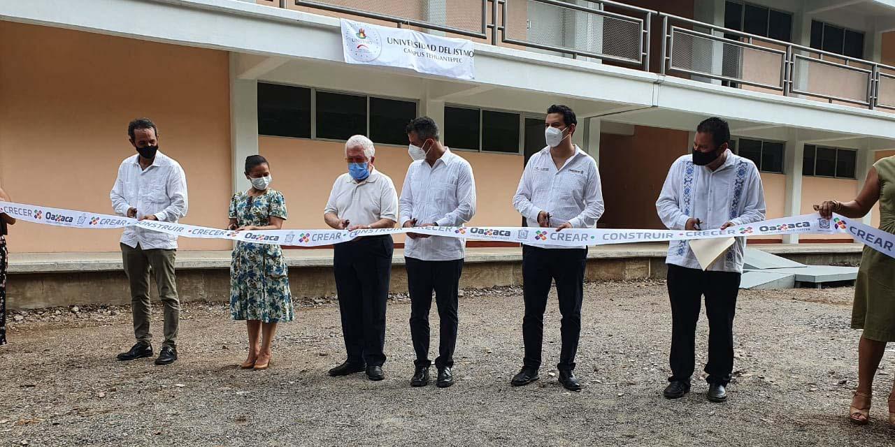 Inauguran parque solar en la Universidad del Istmo, campus Tehuantepec   El Imparcial de Oaxaca