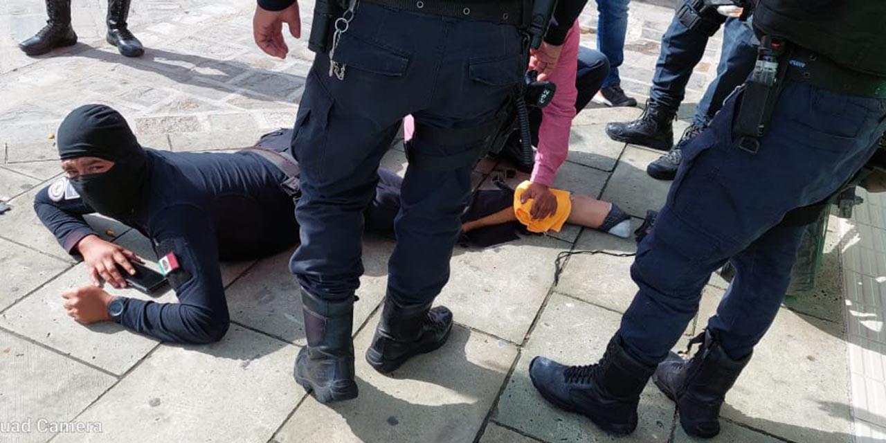 Atropellan a policía municipal de Oaxaca de Juárez   El Imparcial de Oaxaca