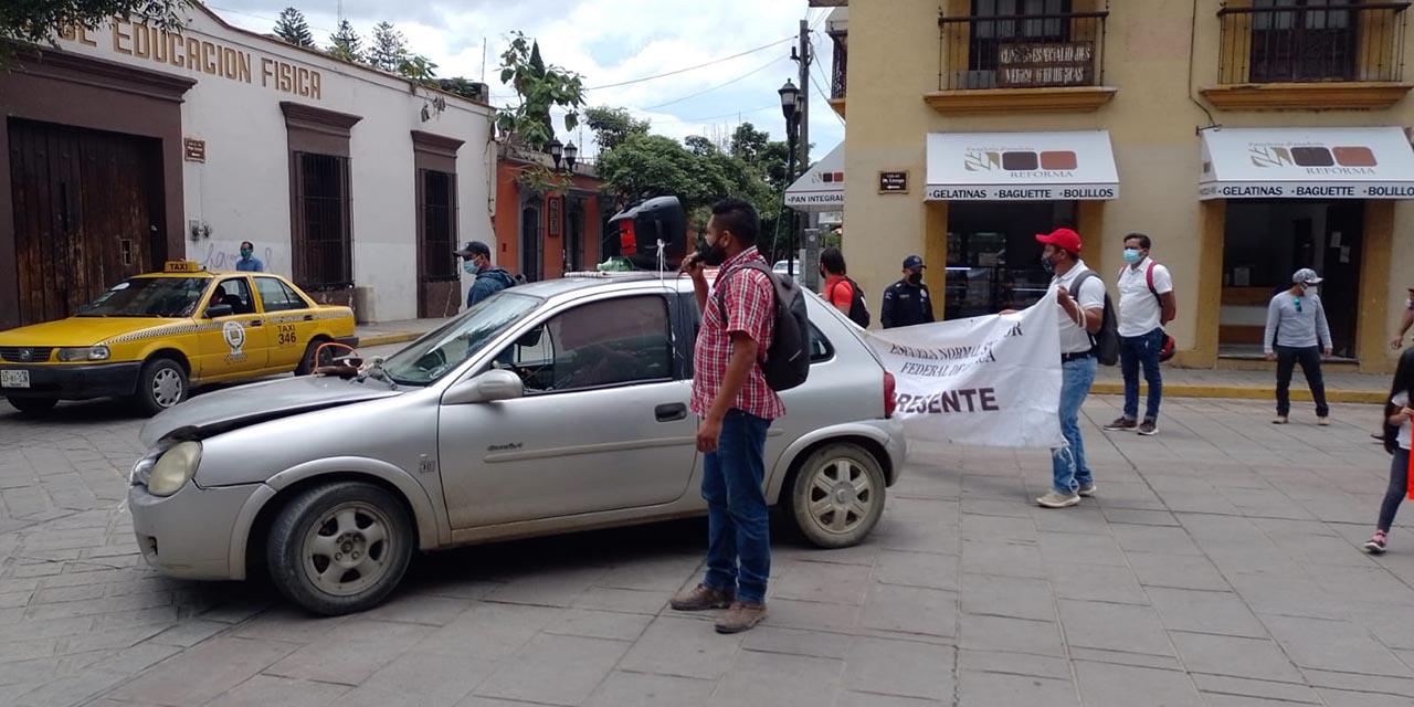 Inmovilizaron la ciudad de Oaxaca integrantes de la ENSFO   El Imparcial de Oaxaca