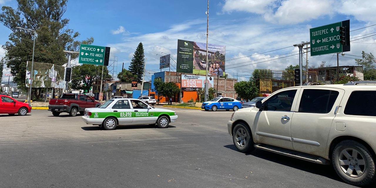 Olvida SCT-Oaxaca dar mantenimiento a semáforos   El Imparcial de Oaxaca