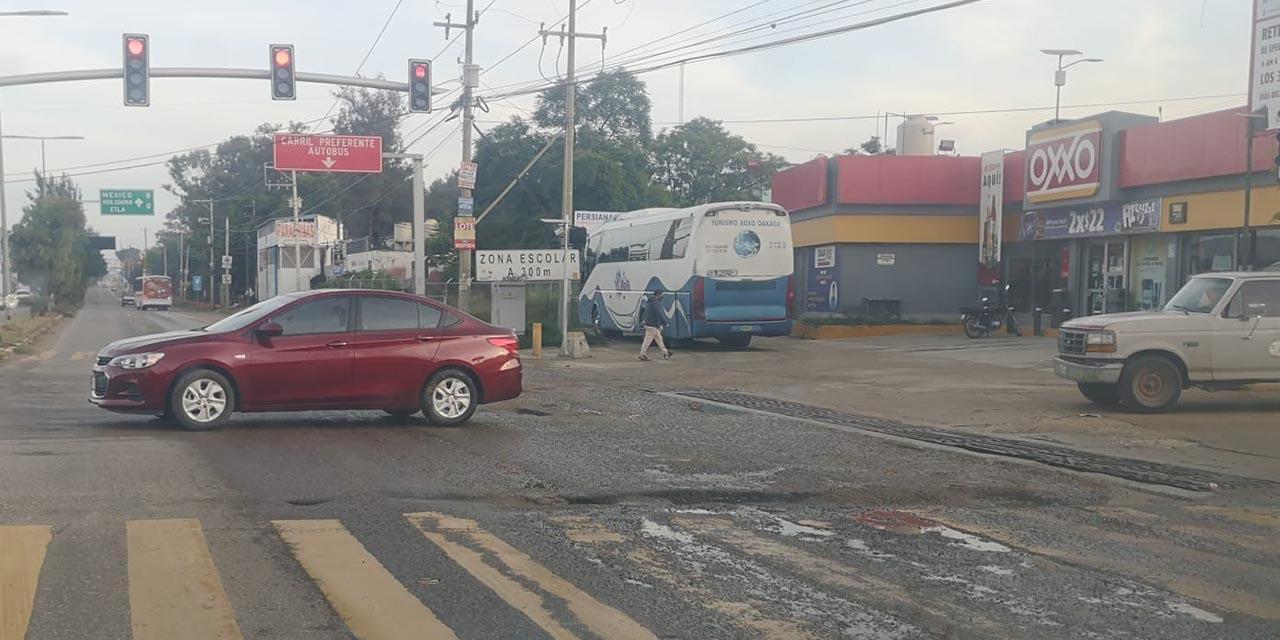Aumentan zanjas en la carretera 190 | El Imparcial de Oaxaca