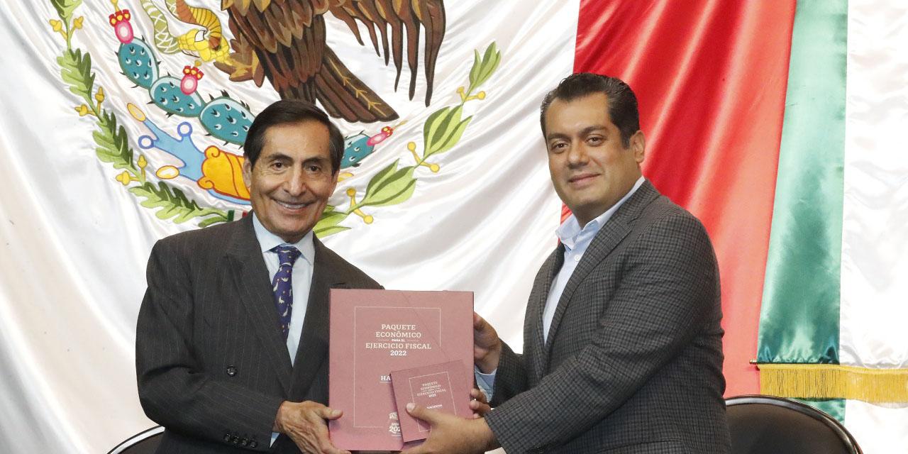 """Entrega SHCP Paquete Económico 2022; """"no habrá incremento de impuestos ni nuevos gravámenes"""", prometen   El Imparcial de Oaxaca"""