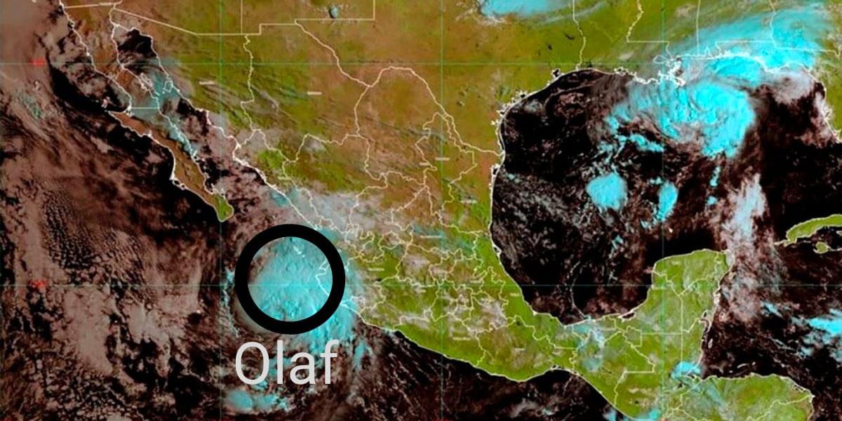 Se forma tormenta 'Olaf' en costas de México; amenaza con lluvias e inundaciones   El Imparcial de Oaxaca