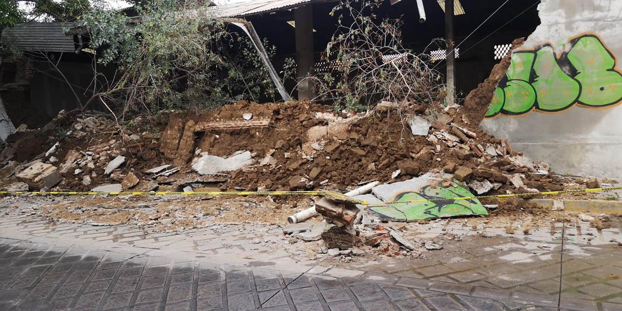 Piden retirar escombros en la calle Armenta y López | El Imparcial de Oaxaca