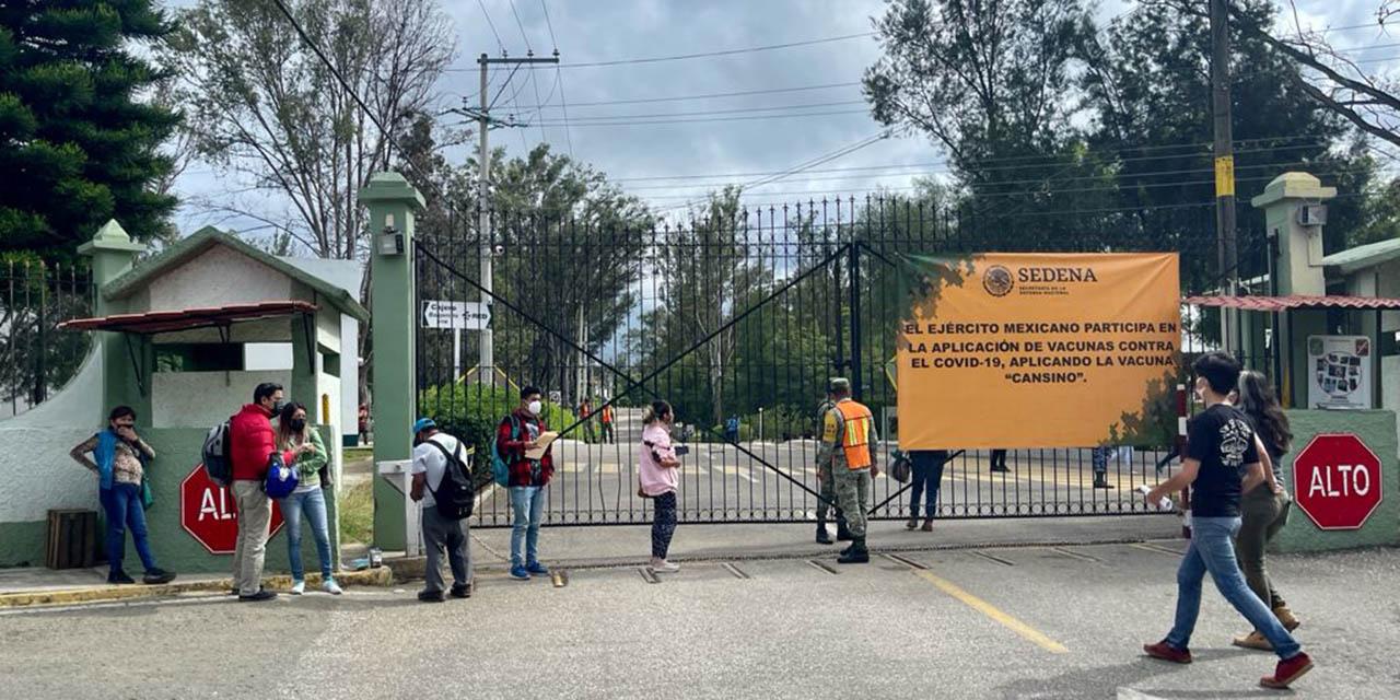 Reducida asistencia en campaña complementaria de vacunación   El Imparcial de Oaxaca