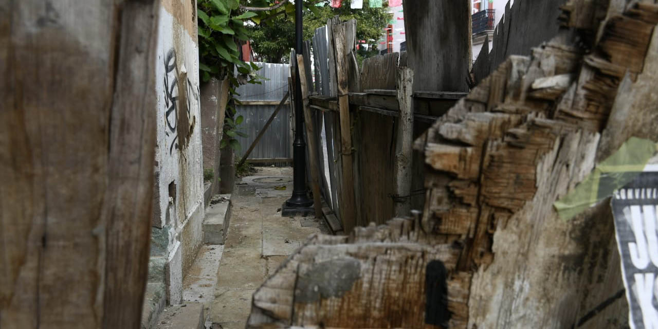 Colapsan inmuebles del Centro Histórico de Oaxaca