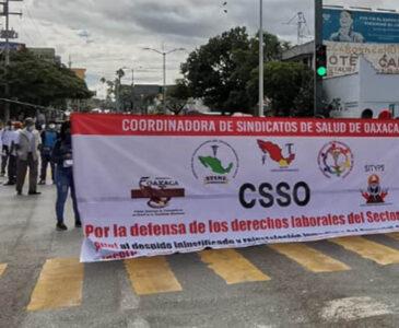 Trabajadores del sector salud anuncian marcha