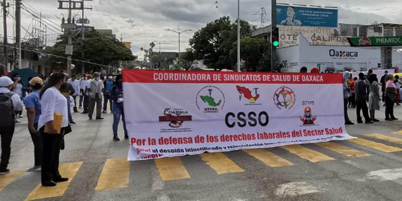 Trabajadores del sector salud anuncian marcha | El Imparcial de Oaxaca