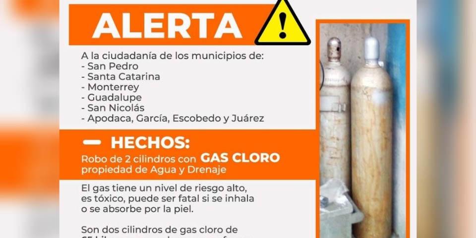 ¡Alerta! Se roban 2 cilindros con gas cloro; que puede ser fatal si se inhala | El Imparcial de Oaxaca