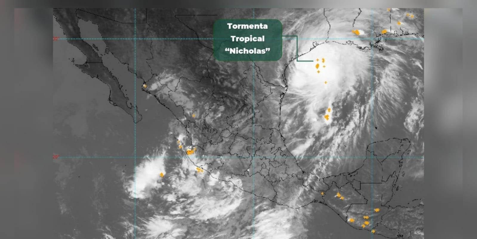 Autoridades alertan en Texas por tormenta 'Nicholas'; se prevén fuertes lluvias e inundaciones   El Imparcial de Oaxaca
