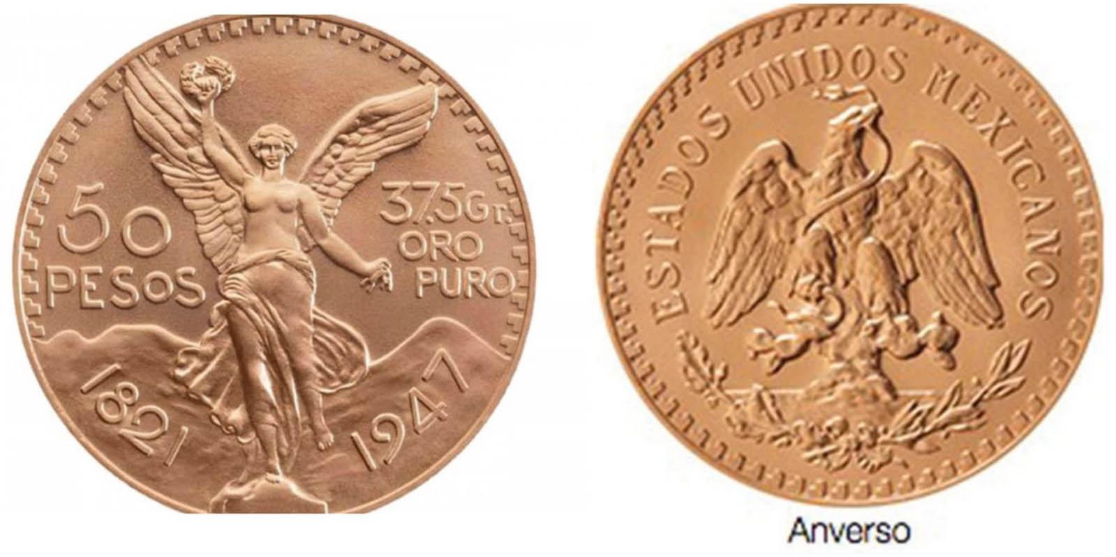 Monedas antiguas de oro de $50 elevan su valor a más de 46 mil pesos | El Imparcial de Oaxaca