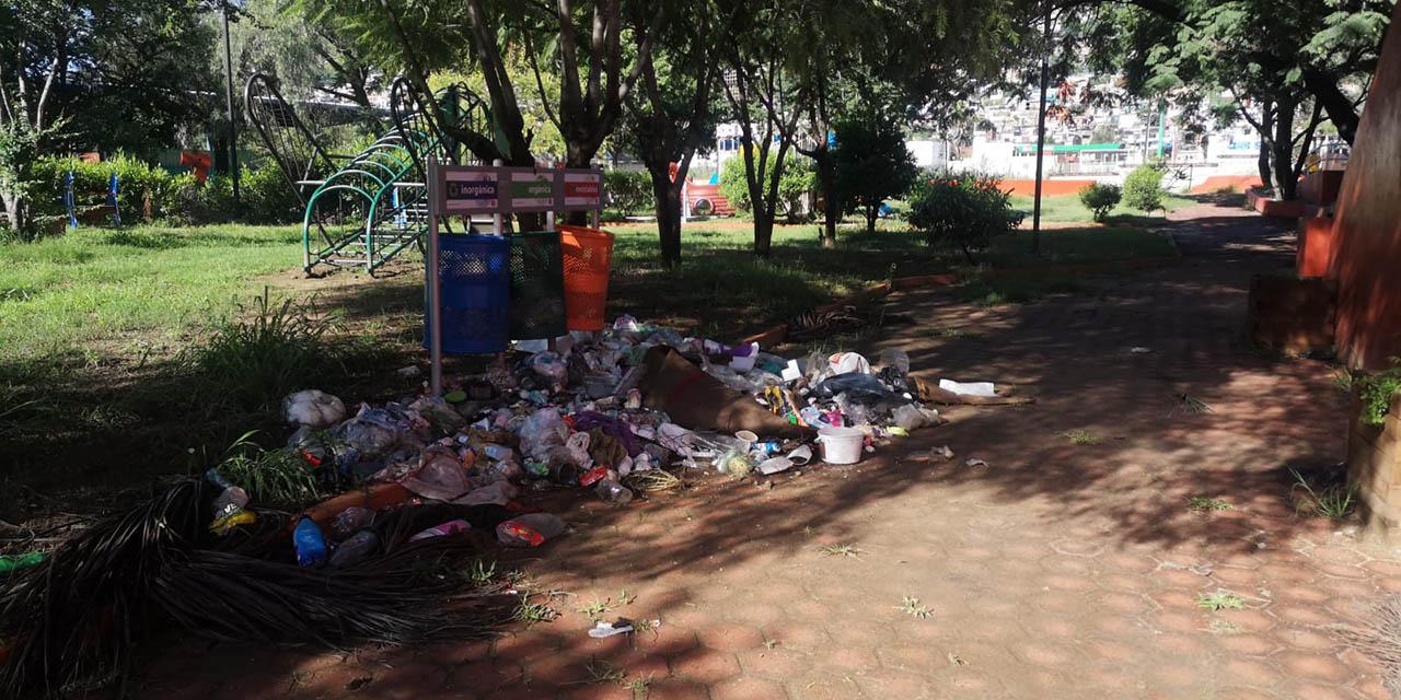 Abandonan parque en la colonia Alemán   El Imparcial de Oaxaca
