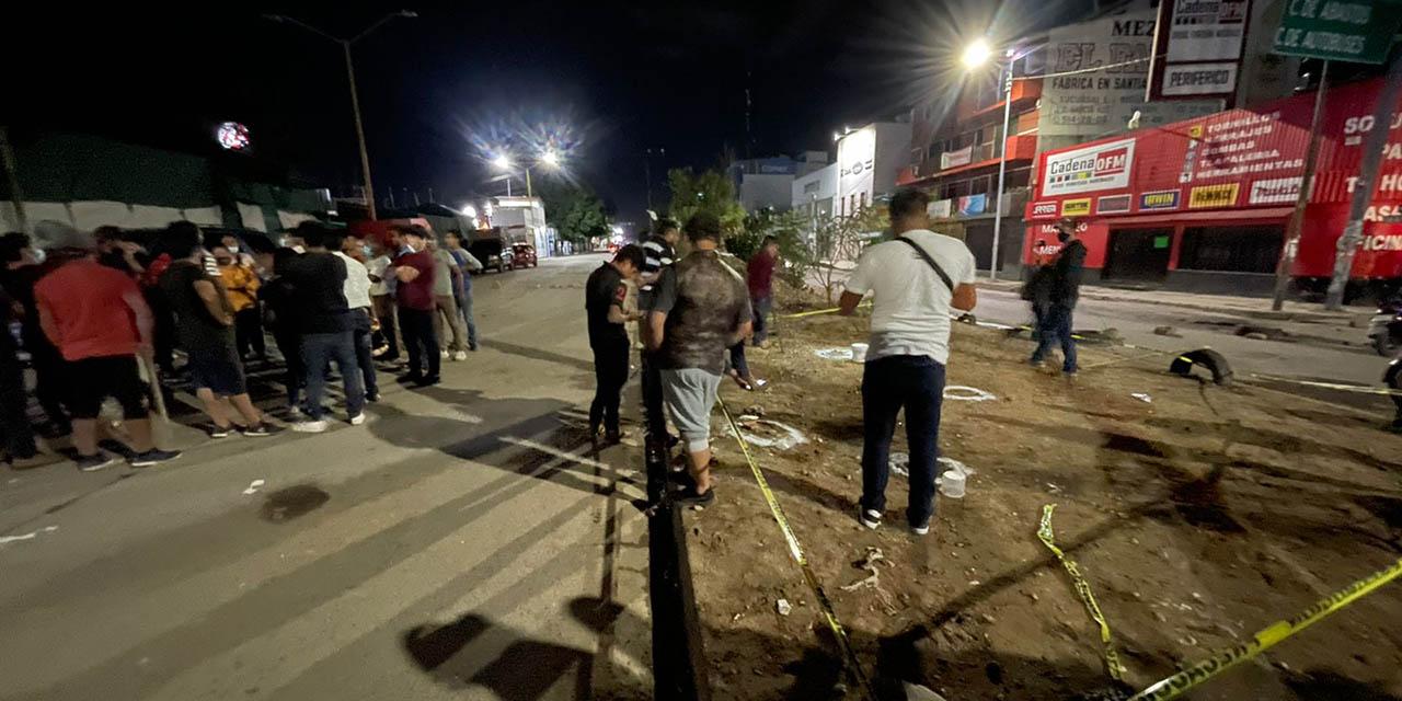 Continúa bloqueada la Central de Abastos por comerciantes, tras el enfrentamiento con la policía Municipal | El Imparcial de Oaxaca
