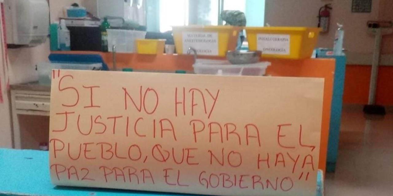 Peligra la vida de 150 niños con cáncer por despidos en el Hospital de la Niñez Oaxaqueña | El Imparcial de Oaxaca