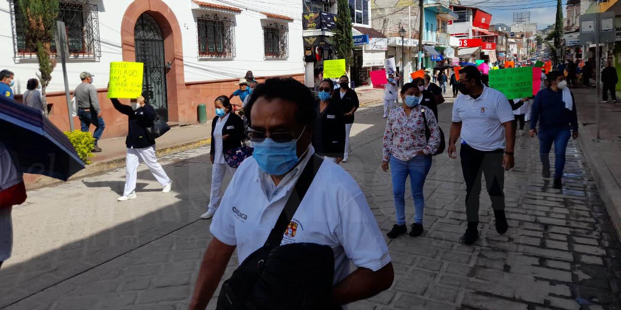 Realiza personal de salud marcha en Huajuapan   El Imparcial de Oaxaca