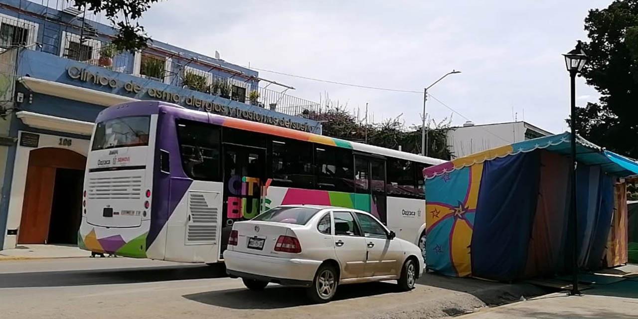 A una semana, Citybus sigue con obstáculos en carril preferente