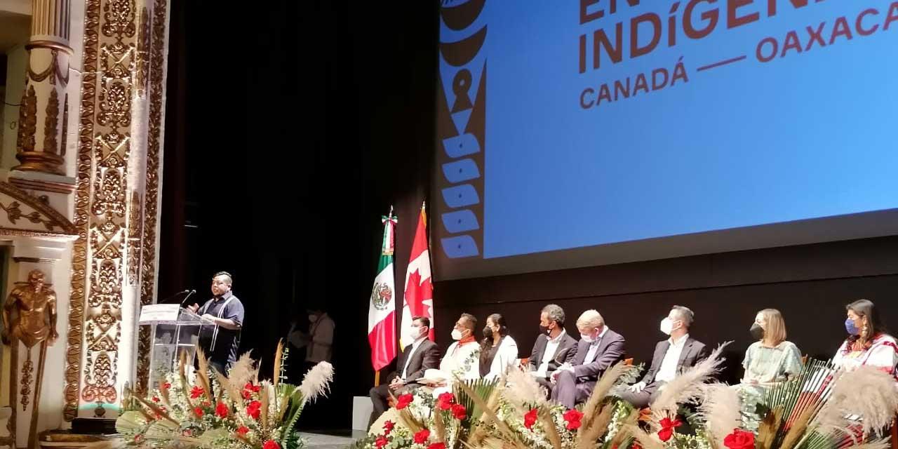 Inauguran Encuentros Indígenas Canadá – Oaxaca | El Imparcial de Oaxaca