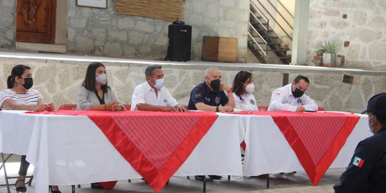 SSPO continúa con capacitación a policías   El Imparcial de Oaxaca