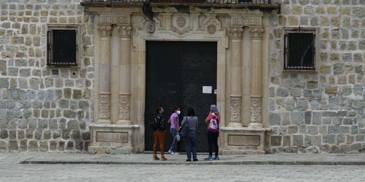 Por brotes de Covid, cierre de palacio municipal de Oaxaca de Juárez | El Imparcial de Oaxaca