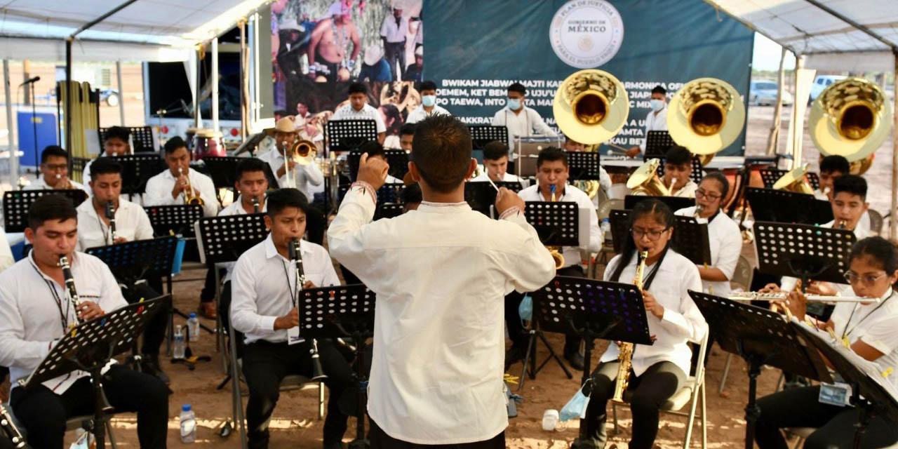 La música del CECAM enmarca petición presidencial de perdón al pueblo yaqui | El Imparcial de Oaxaca