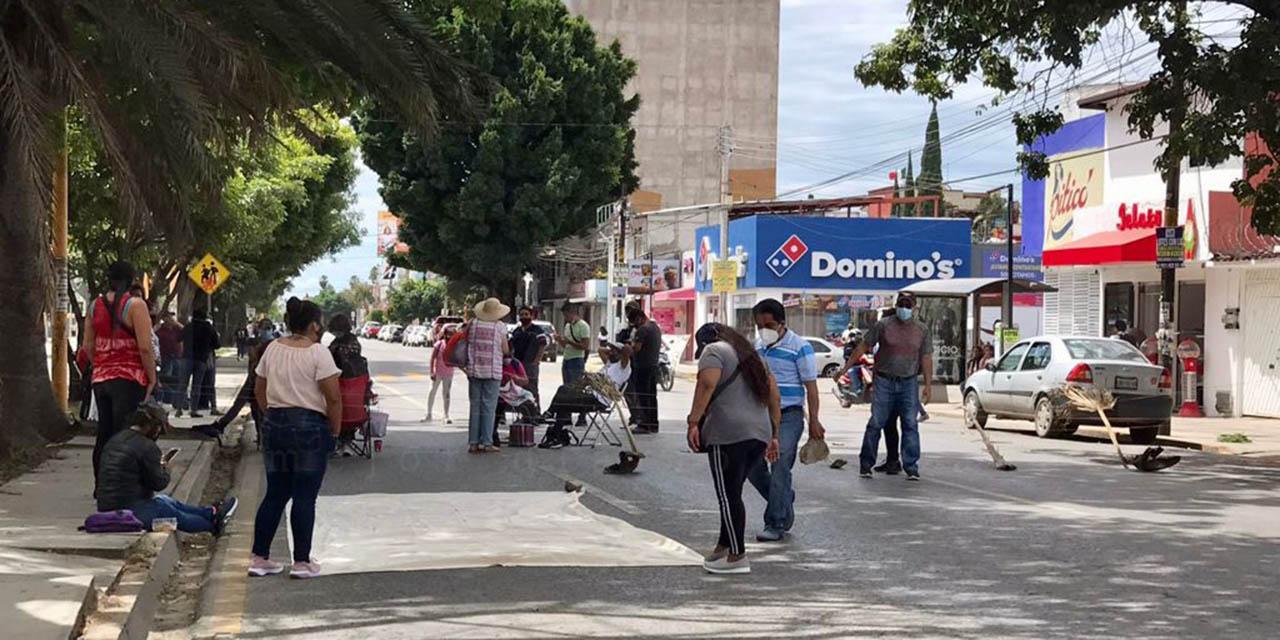 Siguen movilizaciones de STEUABJO | El Imparcial de Oaxaca