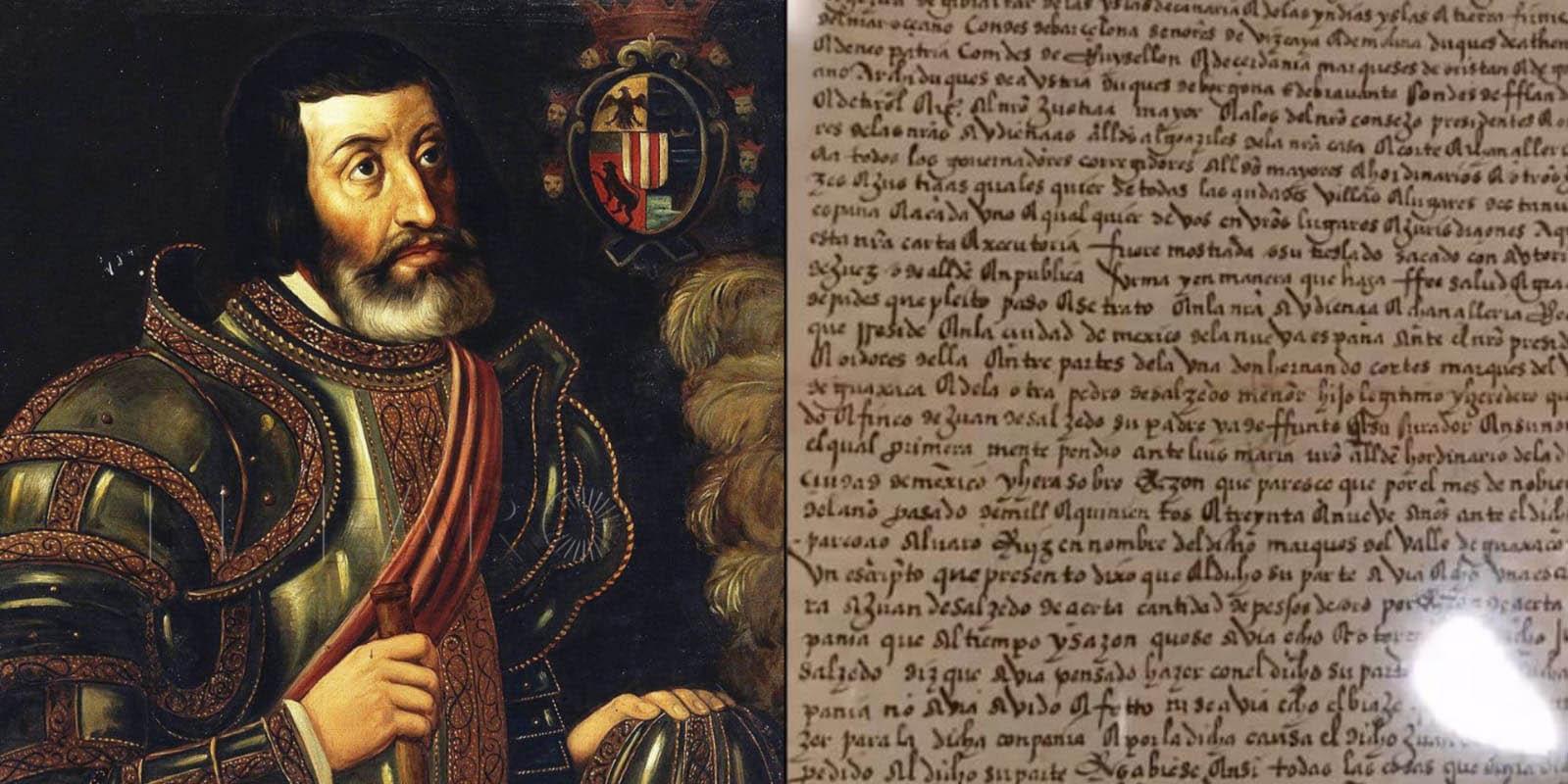 México recupera carta de Hernán Cortés entre otros documentos históricos del siglo XVI   El Imparcial de Oaxaca