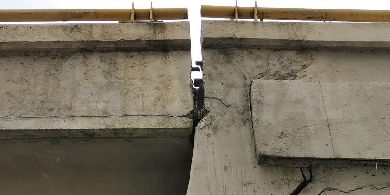 Sinfra admite desgastes en puntos del puente elevado de 5 Señores
